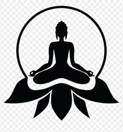 buddhist drawing yoga lord buddha photos black and white clipart [ 880 x 908 Pixel ]