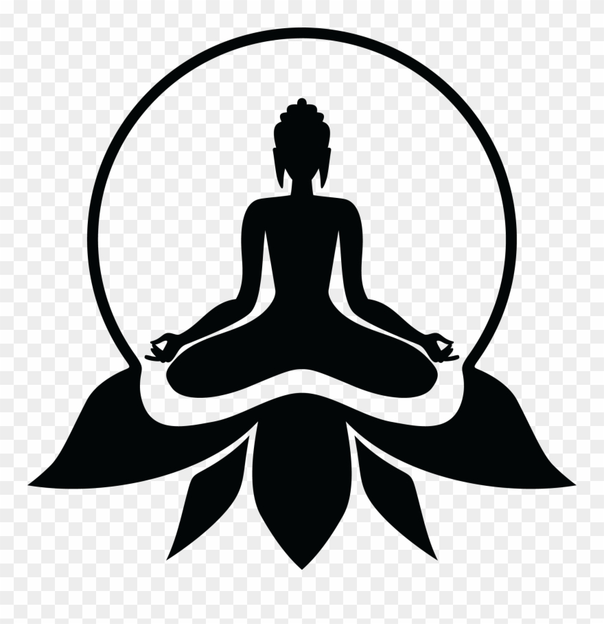 medium resolution of buddhist drawing yoga lord buddha photos black and white clipart