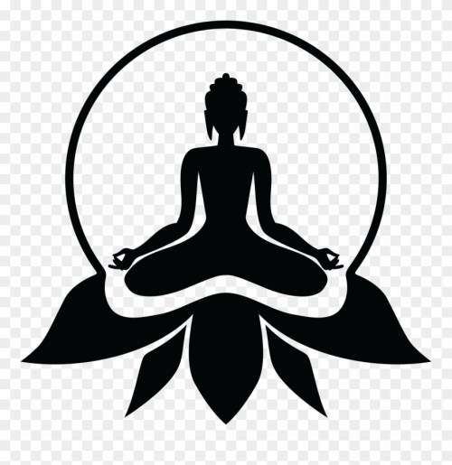 small resolution of buddhist drawing yoga lord buddha photos black and white clipart