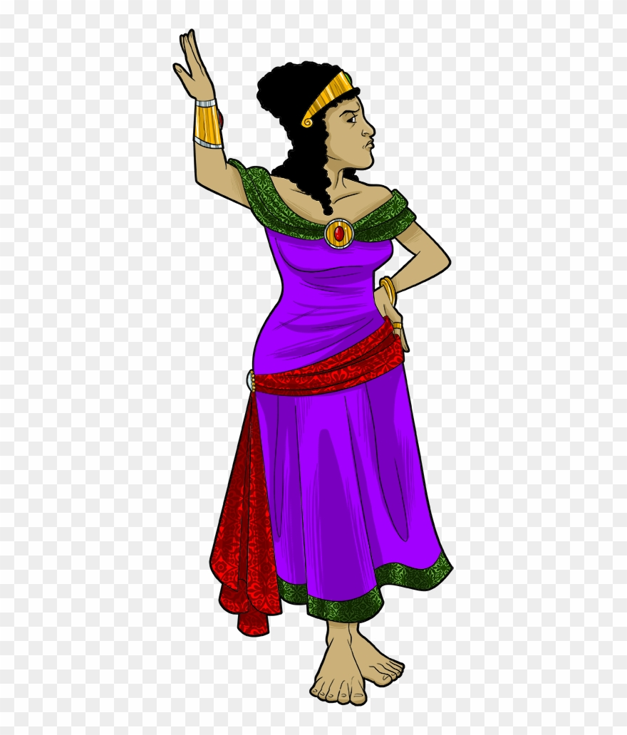 hight resolution of wife of the king of persia esther clipart