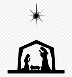 nativity scene nativity of jesus silhouette christ o come immanuel string trio clipart [ 880 x 1120 Pixel ]