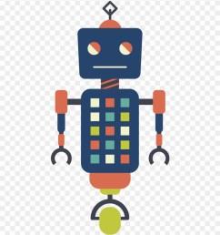 vector robots hipster robot clipart [ 880 x 1015 Pixel ]