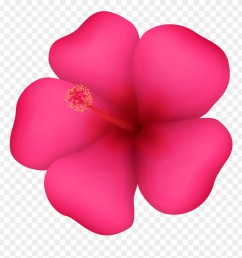 tropical flower clipart png download [ 880 x 926 Pixel ]