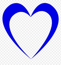 wedding blue heart outline design love  [ 880 x 921 Pixel ]