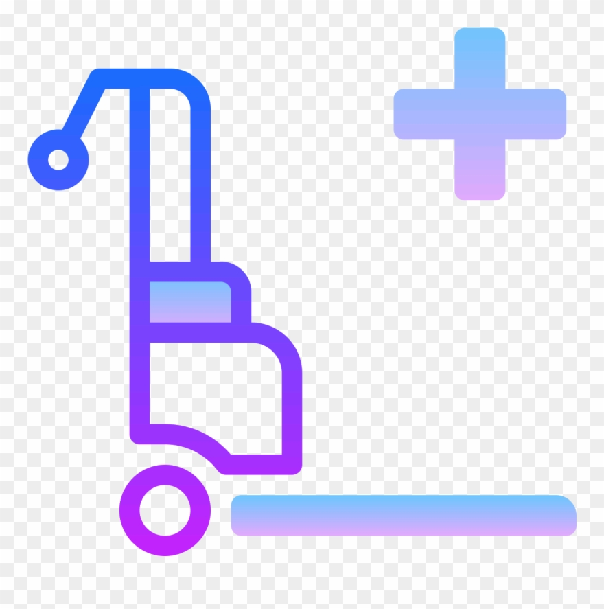 hospital bed mover icon