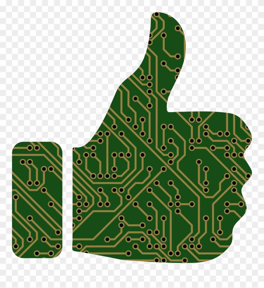 medium resolution of big image printed circuit board clipart png download