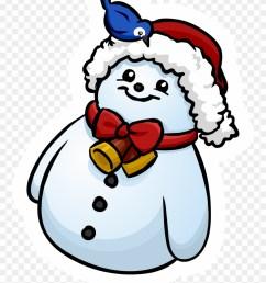clipart snowman penguin club penguin png download [ 880 x 1190 Pixel ]