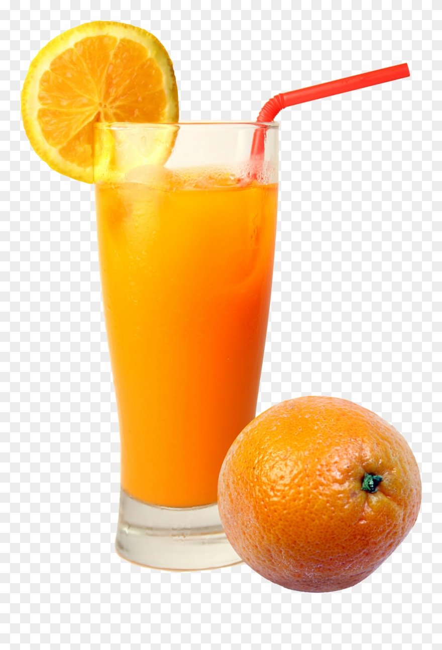 hight resolution of smoothie clipart fruit punch orange juice in a glass png download