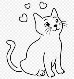 happy cat clipart 8 drawings drawing images of cats png download [ 880 x 983 Pixel ]
