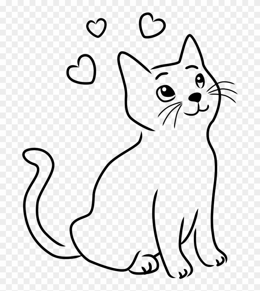 hight resolution of happy cat clipart 8 drawings drawing images of cats png download