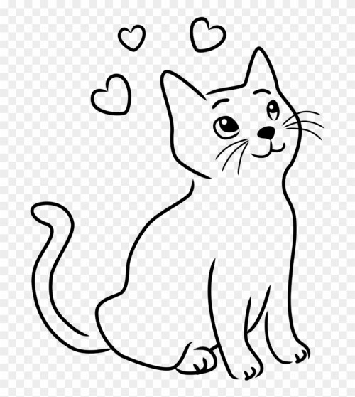 small resolution of happy cat clipart 8 drawings drawing images of cats png download
