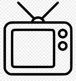 svg black and white boombox clipart radio television tv broadcast icon png transparent png [ 880 x 983 Pixel ]
