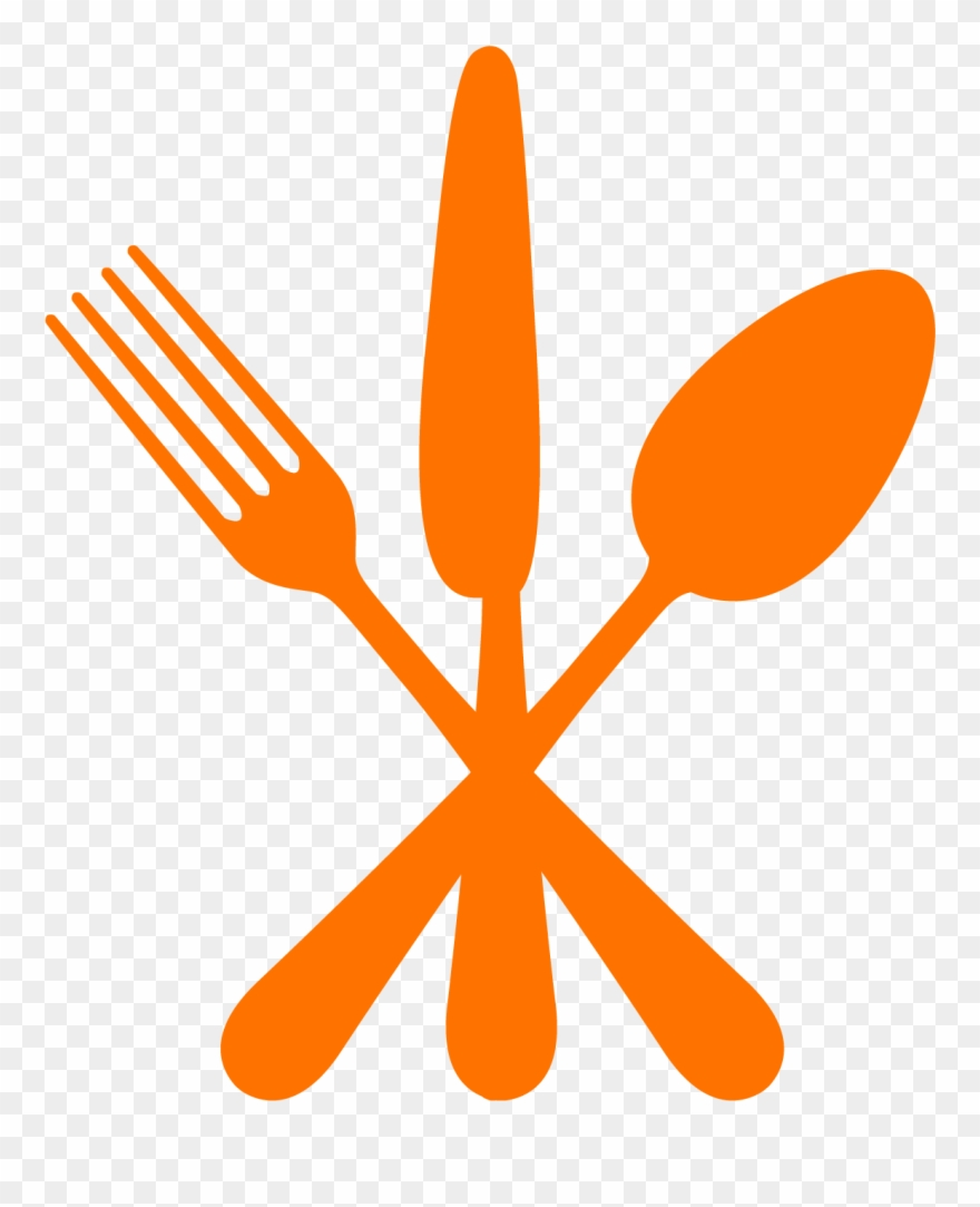 hight resolution of dining fork spoon knife clipart png download