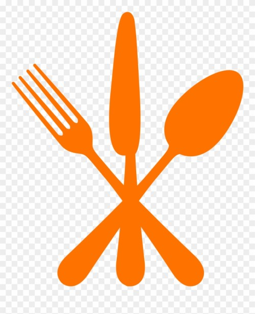 small resolution of dining fork spoon knife clipart png download