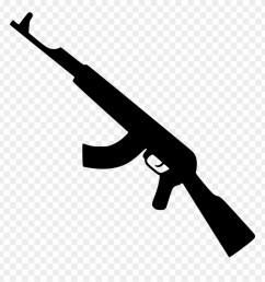 kalashnikov gun png icon gun icon png clipart [ 880 x 921 Pixel ]