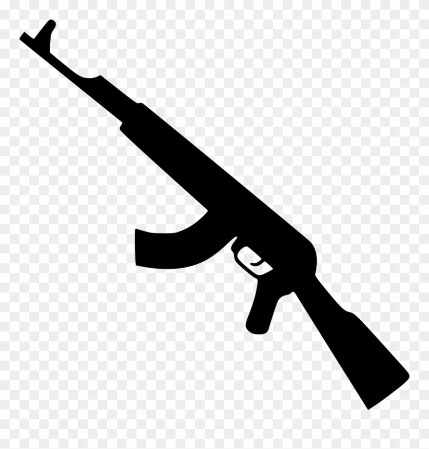 hight resolution of kalashnikov gun png icon gun icon png clipart