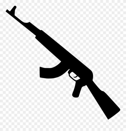 small resolution of kalashnikov gun png icon gun icon png clipart