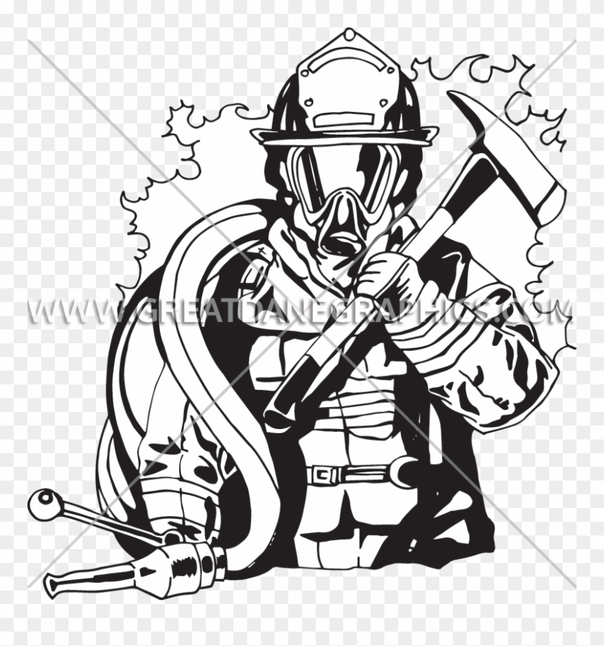 hight resolution of png transparent library firefighter black and white fire fighter line art clipart