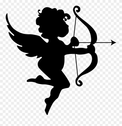 small resolution of onlinelabels clip art cupid bow and arrow clip art png download