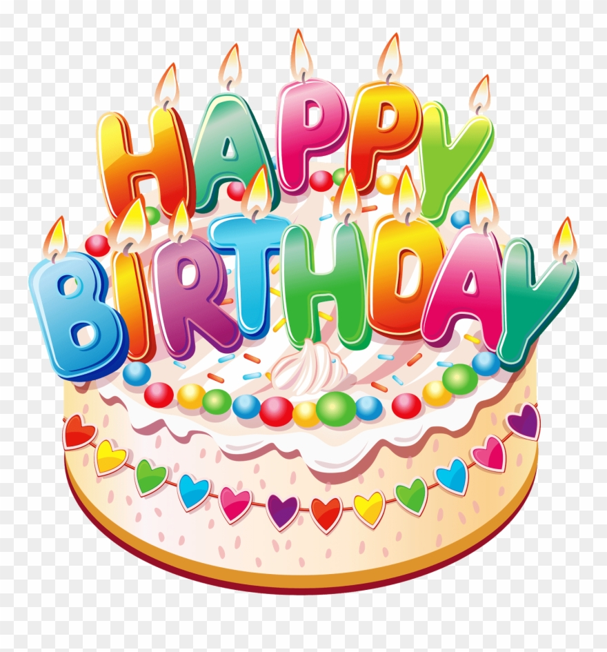 Happy Birthday Cake Png Clipart 839903 Pinclipart