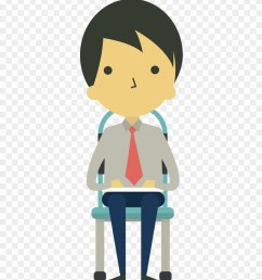 cartoon businessman sitting on chair cartoon sitting on chair clipart [ 880 x 1030 Pixel ]