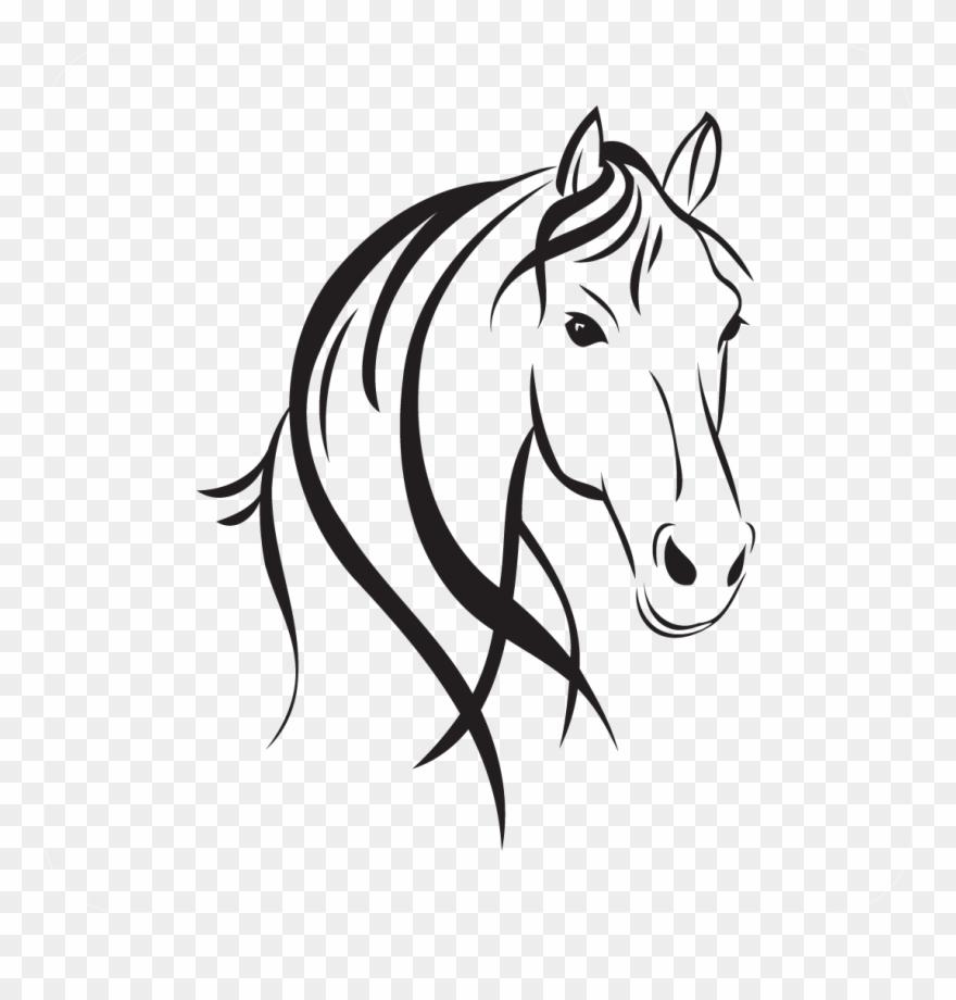 horse head style horse