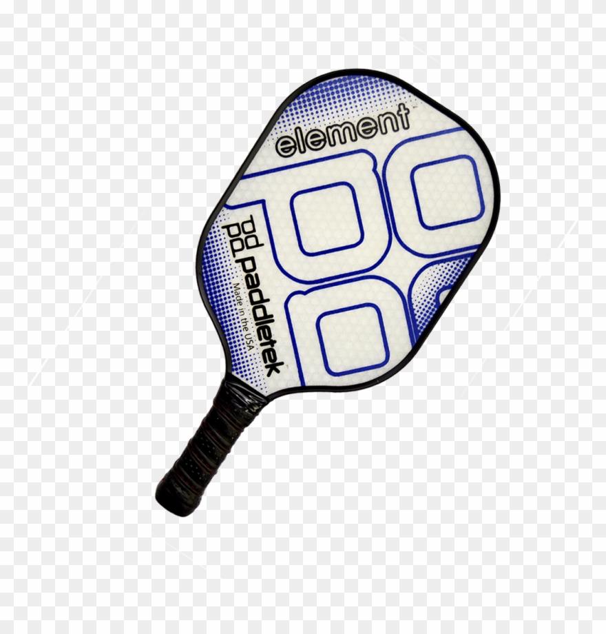 hight resolution of paddletek element pickleball paddle blue clipart