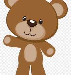 brown teddy bear clipart png download [ 880 x 1266 Pixel ]
