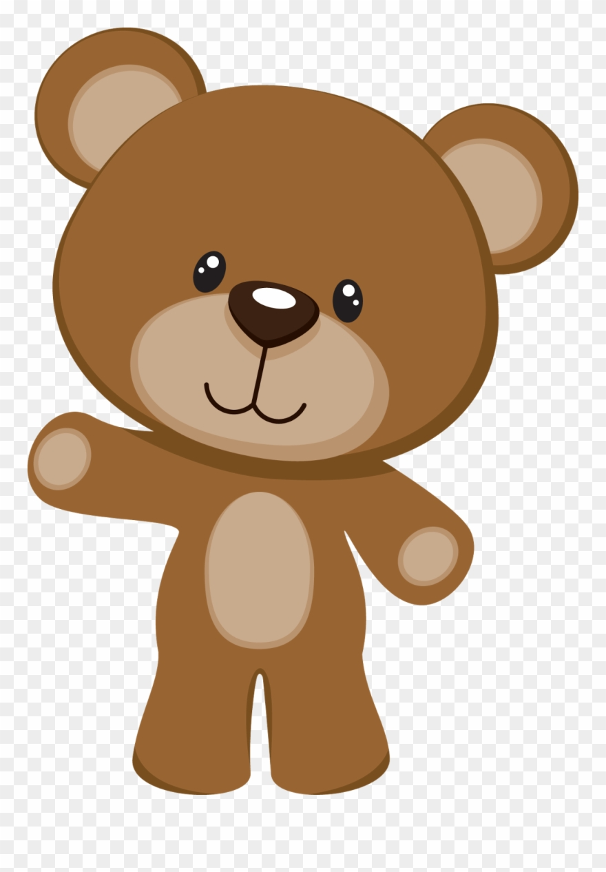 hight resolution of brown teddy bear clipart png download
