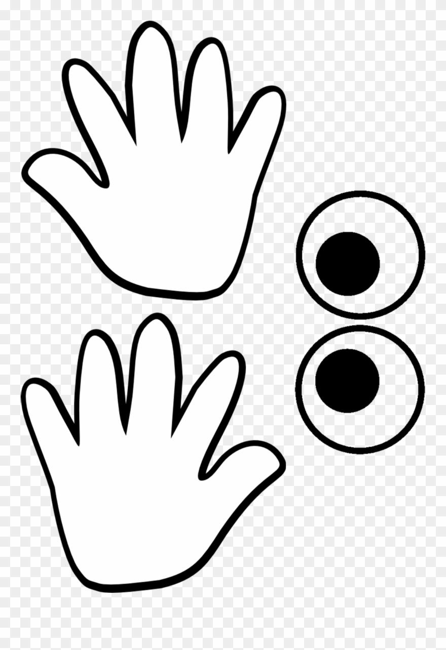 medium resolution of Template - Hand Worksheet Clipart (#874482) - PinClipart