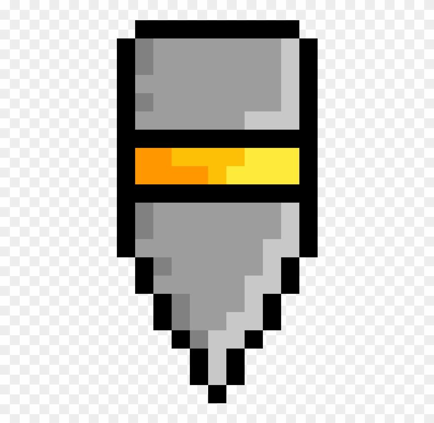 a heavy bullet pixel