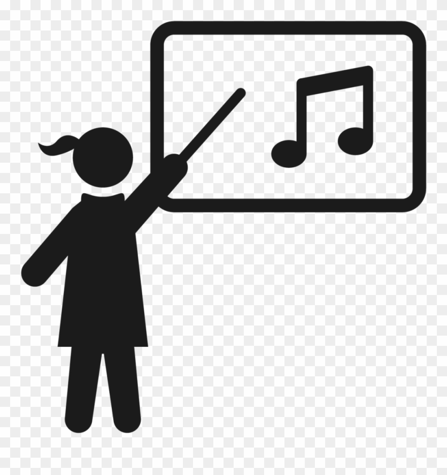 Transparent Teacher Music Clip Royalty Free Download