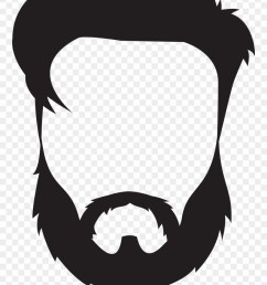 beard and mustache clipart png download [ 880 x 1243 Pixel ]