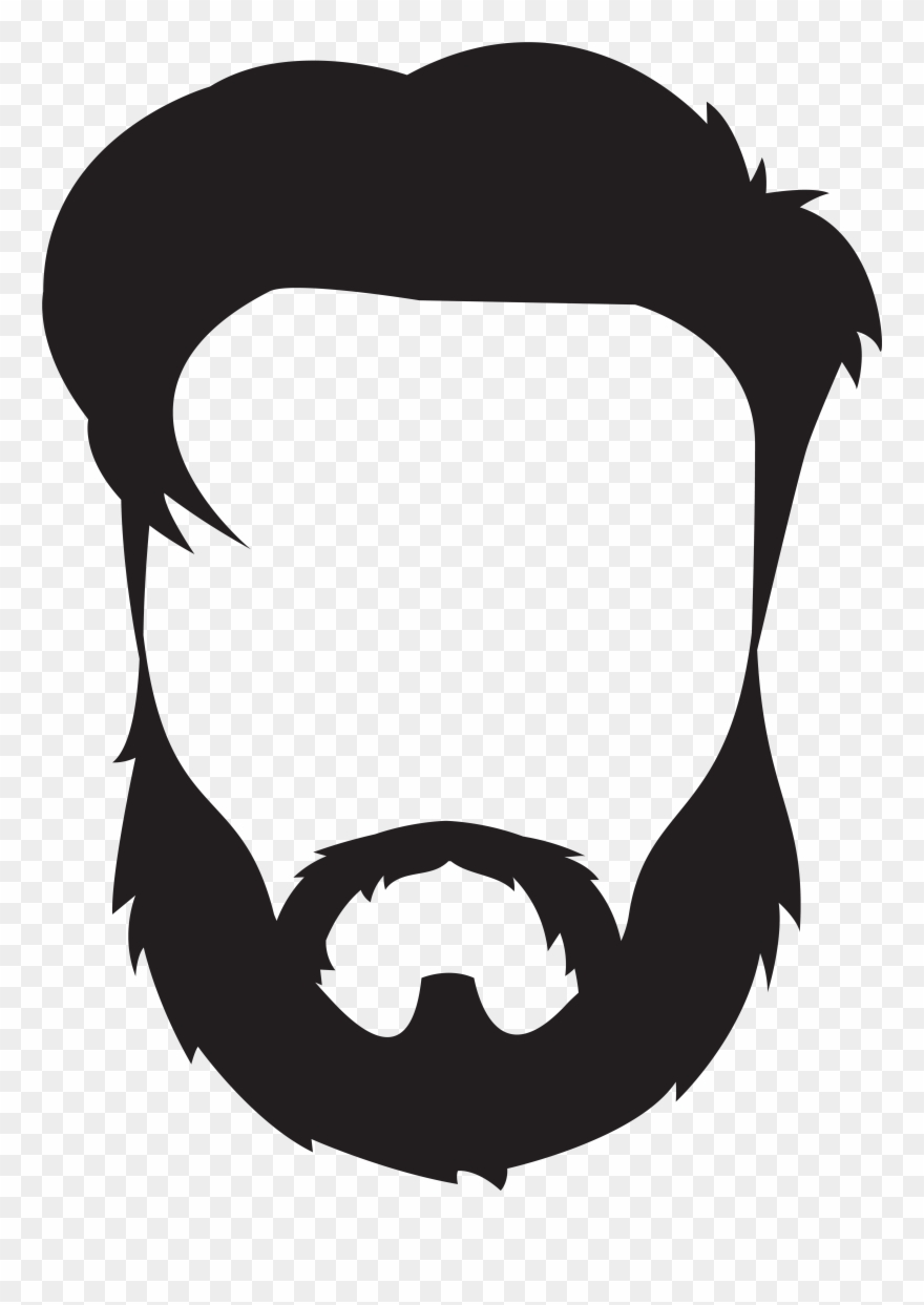 medium resolution of beard and mustache clipart png download