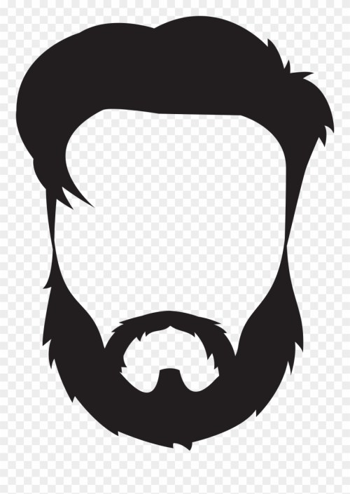 small resolution of beard and mustache clipart png download