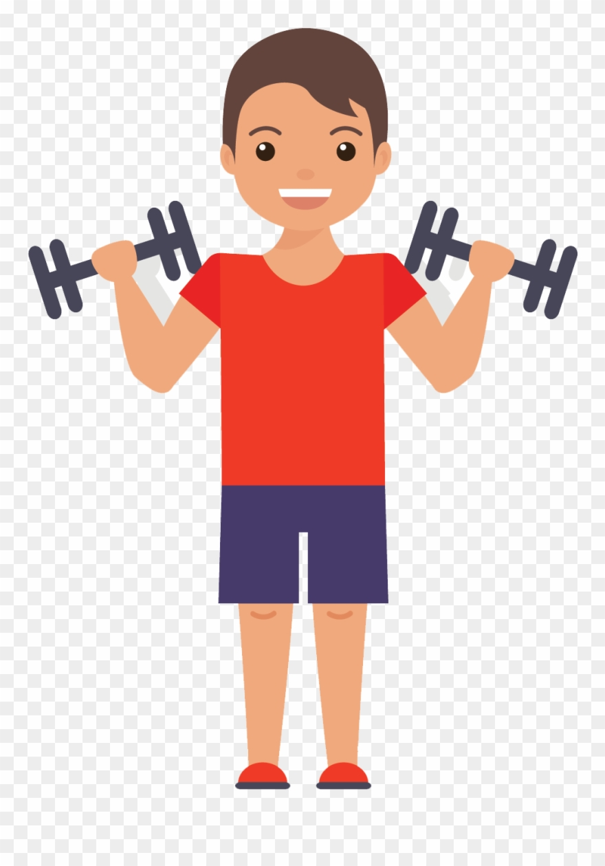 hight resolution of muscles clipart gym exercise flat design png transparent png