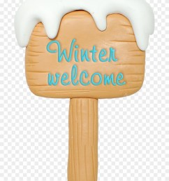 winter clipart christmas winter welcome sign clipart png download [ 880 x 1104 Pixel ]