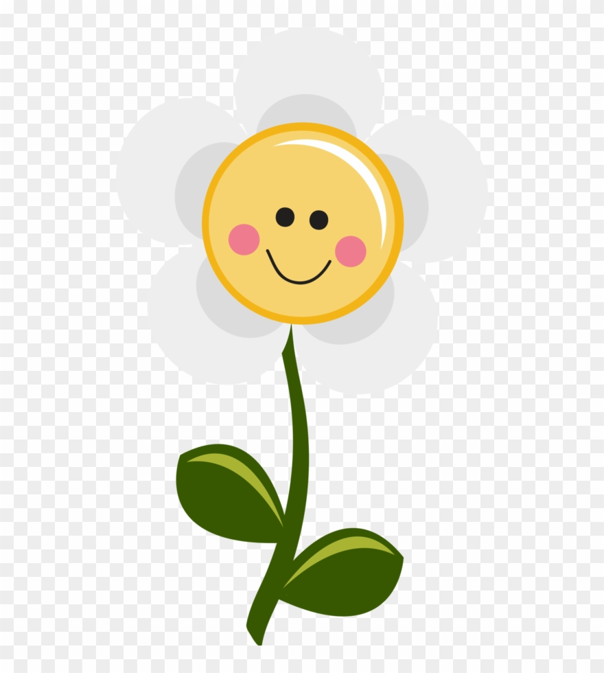 hight resolution of smiley happy daisy flower clipart
