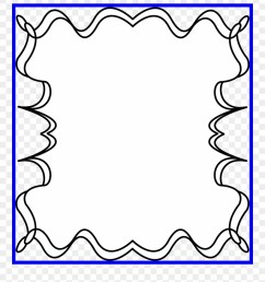 black and white of image border picture frame halloween clipart [ 880 x 994 Pixel ]