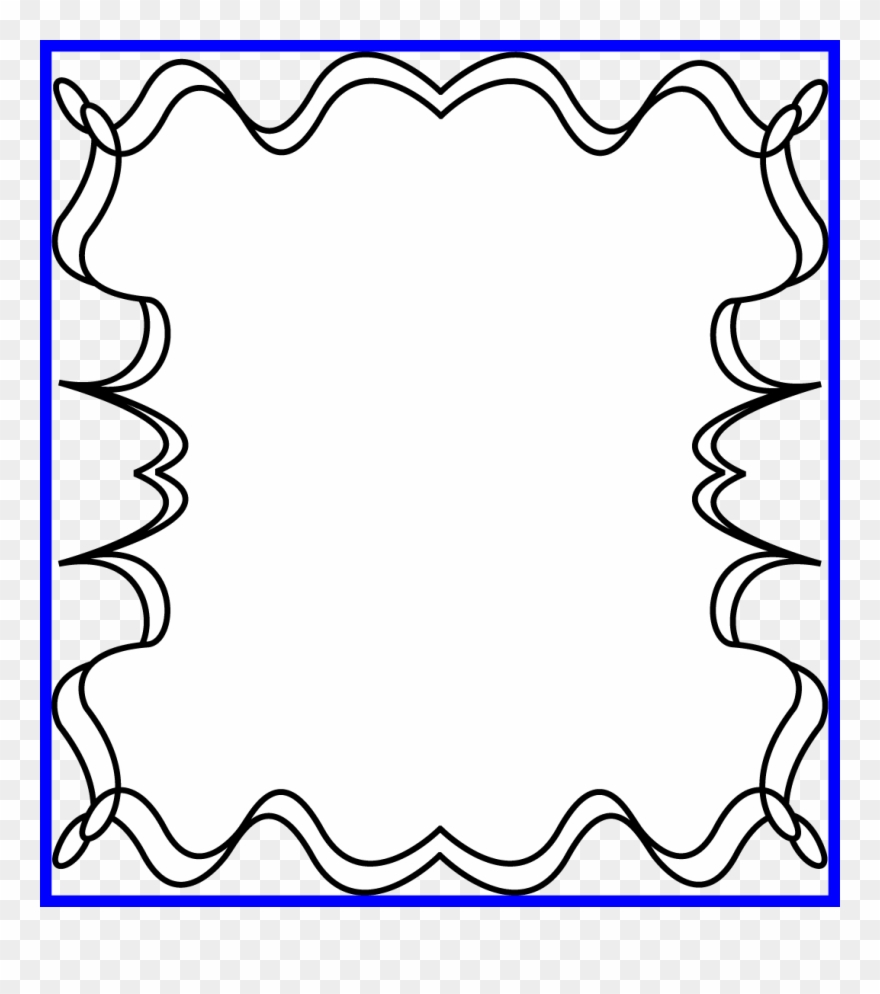 hight resolution of black and white of image border picture frame halloween clipart