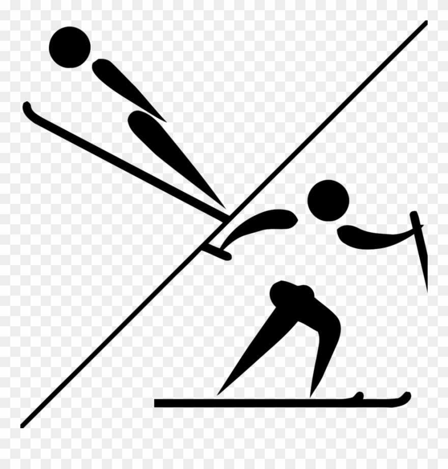 hight resolution of nordic combined olympics clipart winter olympic games nordic combined winter olympics png download
