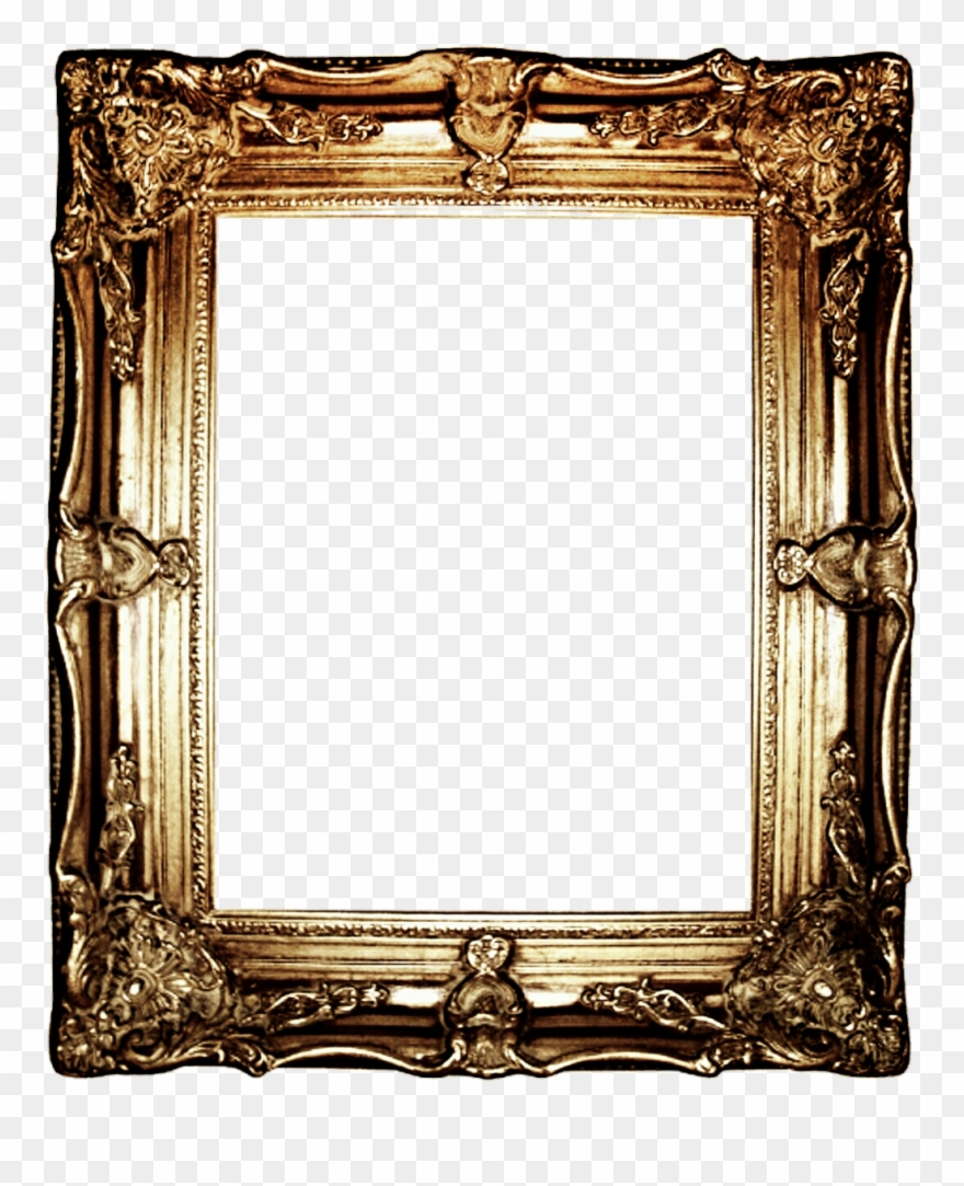 hight resolution of clip library download antique frame clipart gold portrait frame png transparent png