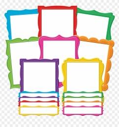fancy frames bulletin board display set bulletin board clipart [ 880 x 920 Pixel ]