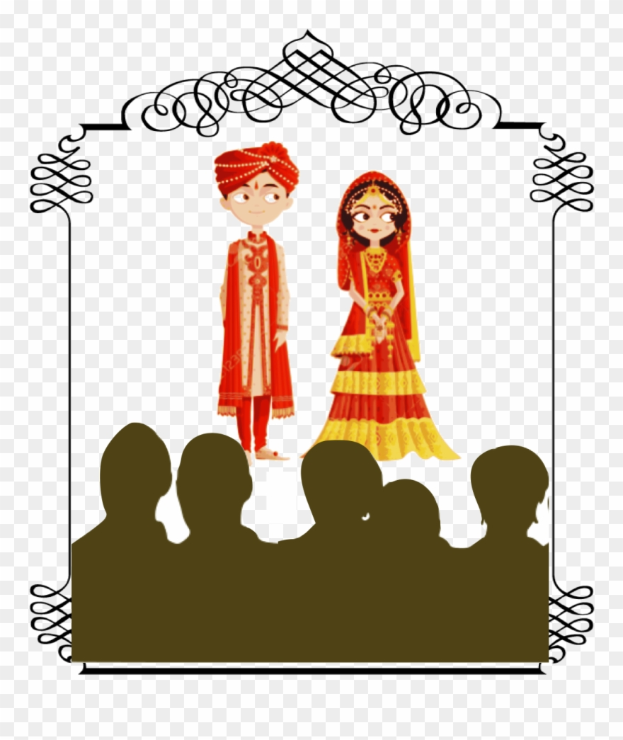 hight resolution of arranged marriages wedding bride and groom cartoon india clipart