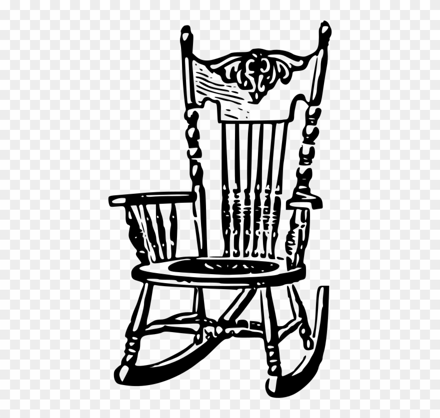 Medium Image  Free Clipart Rocking Chair  Png Download