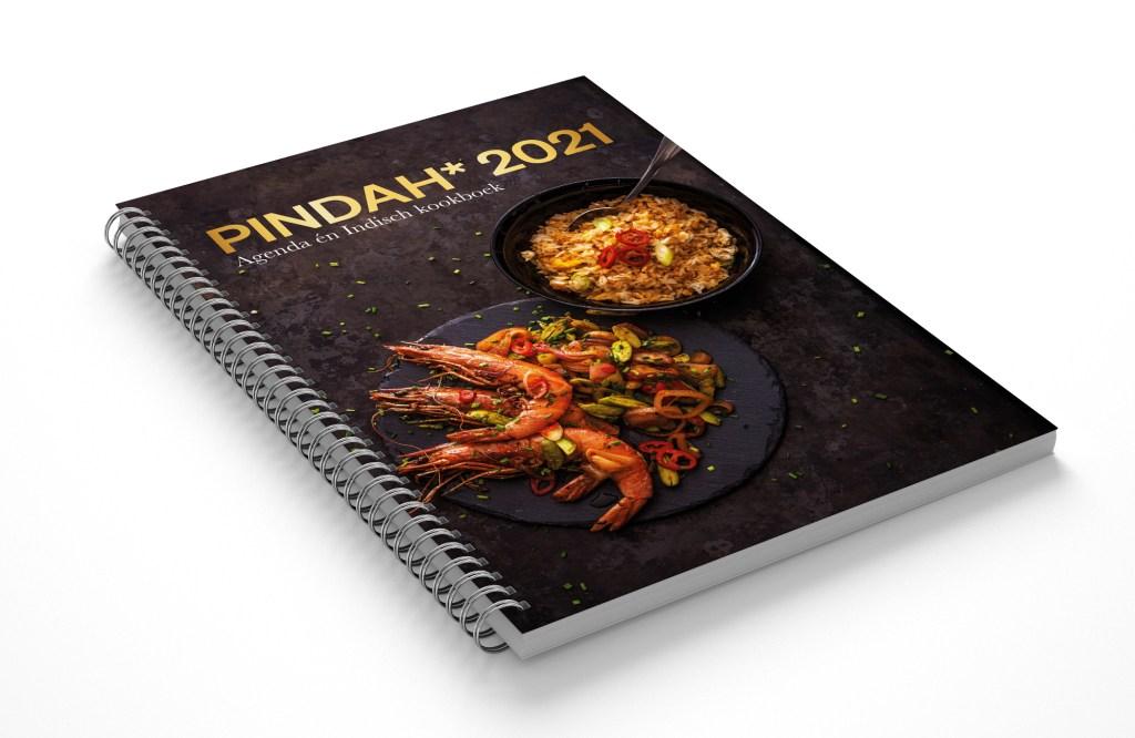 Pindah* Culinaire Agenda 2021. Agenda én kookboek. Bestel hier met 35 procent korting (minimale afname 5 stuks)