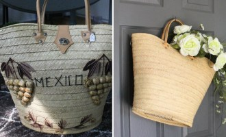 Re-purposed Thrift Store Bag