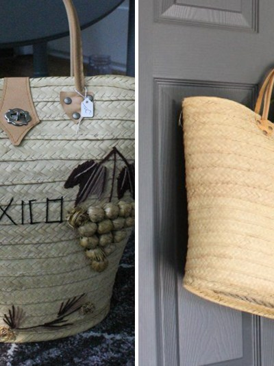 Re-purposed Thrift Store Bag