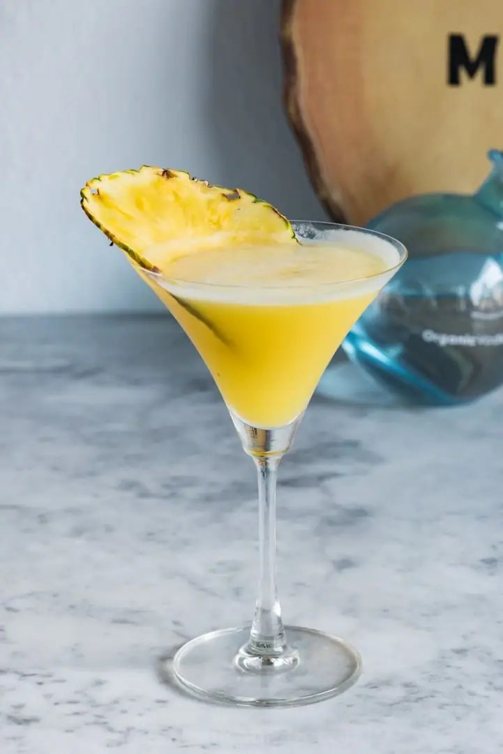 Aloha Friday Martini  Pineapple Coconut Martini