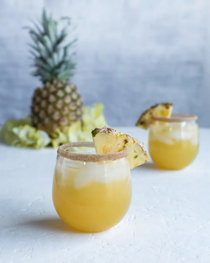 Spiced Pineapple Rum Punch Recipe